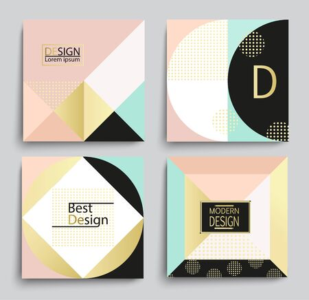 applicable: Set of elegant geometric banner template design, vector illustration. Applicable for Covers, Voucher, Posters, Flyers and Banner Designs.