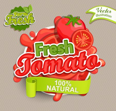 フレッシュ トマトのロゴ。