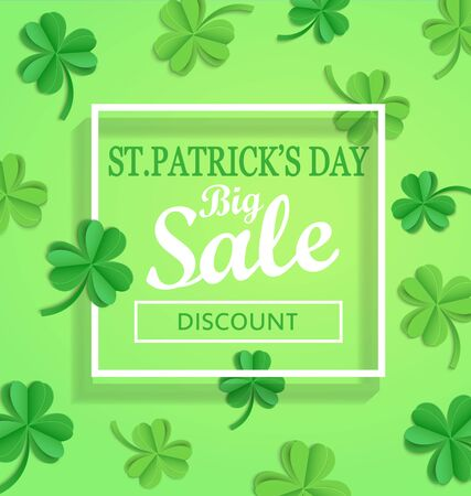 17: Saint Patricks Day Sale poster template.