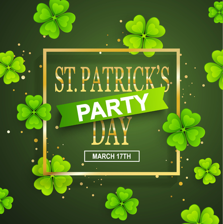 patrick: St. Patrick Day poster.