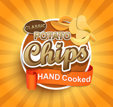 Potato chips label.