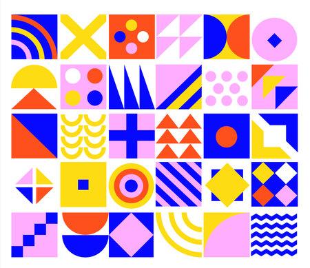 Geometric minimalistic background. Stock Illustratie