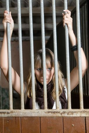 tremble: Domestic violence with a prisioner woman