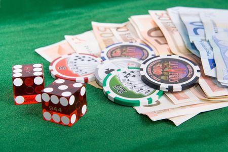 dado: dado in las vegas with euros