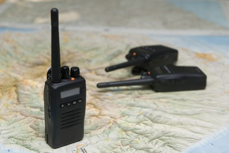 beginner: Radio Wireless Communications  Stock Photo