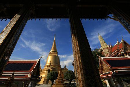 archaeological: Watphakaew ,Bangkok ,Thailand Stock Photo