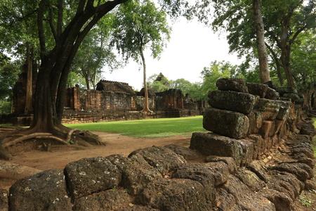 Prasatmuangsing, 깐 차나 부리 주, 태국 스톡 콘텐츠 - 81210198