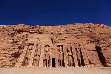 Abu Simbel, Egipto Foto de archivo - 80414674