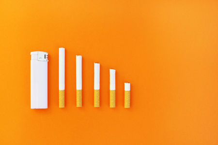 Quit smoking concept Stock Photo