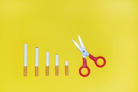 encendedores: Dejar de fumar concepto