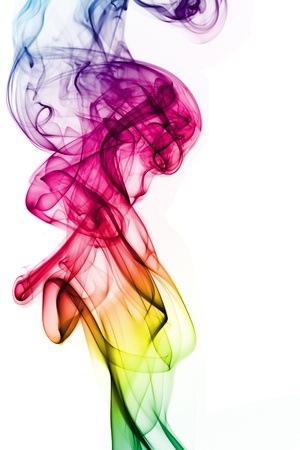 Abstract  of colorful smoke Imagens - 13328680