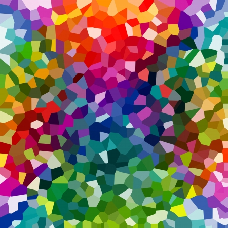 Abstract colorful mosaic pattern Stock Photo