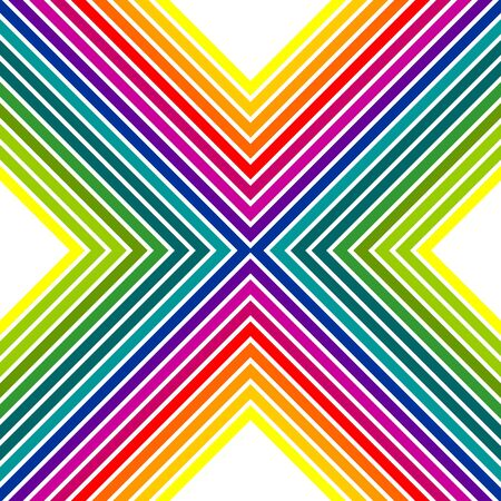 Abstract colorful rainbow pattern photo