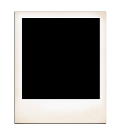 confines: Old Photo Frames isolated on white