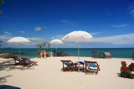 Samet island, tropical beach of Thailand  免版税图像