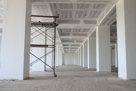Interior of apartment during construction in site Reklamní fotografie