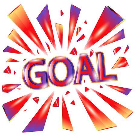 Goal icons symbol illustration