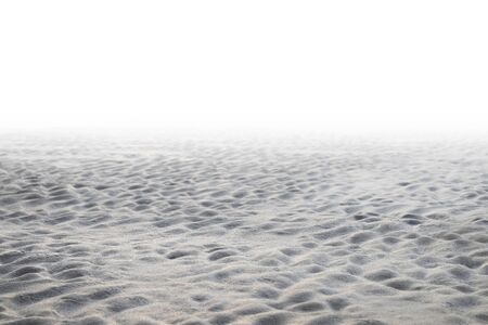 Sand blur beautiful nature on tropical beach with fog background Imagens