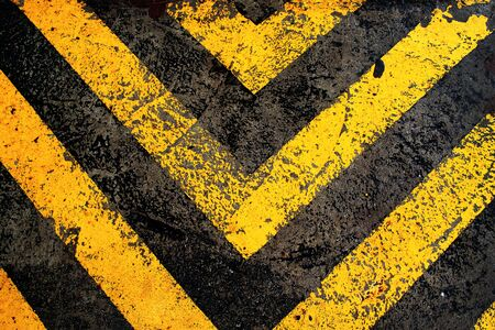 Close up sign on the road abstract background