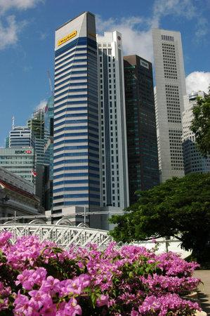 singapore city: Singapore City view