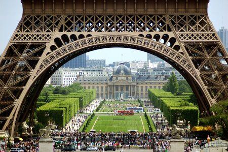champs elysees quarter: Eiffel tower