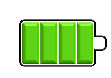 electric cell: FULL BAR BATTERY INDICATOR