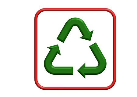Recycling Symbol Stock Photo - 9393256
