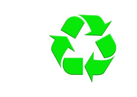 Recycle logo Stock Photo - 10160718