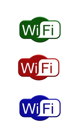 Wifi logo Stock Photo - 13651846