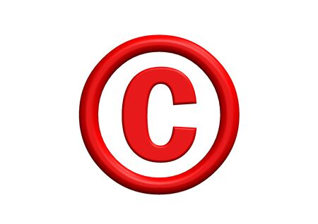 Copyright Symbol Stock Photo - 10387663