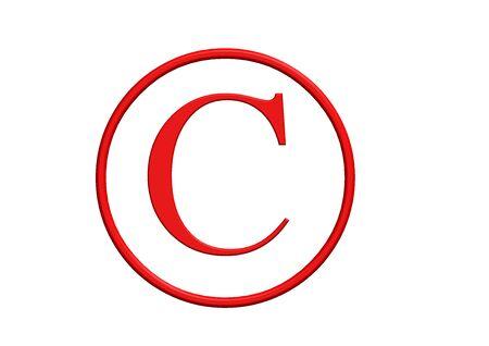 Copyright Symbol Stock Photo - 10387660