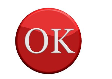OK button Stock Photo - 10837523