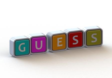 guess: Cubes: Guess