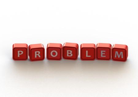 Cubes: problem Stock Photo - 11678742