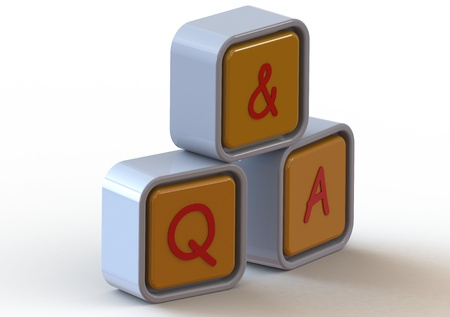 Cubes: question and answer photo