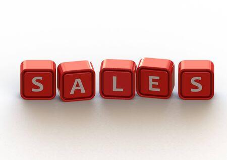 Cubes: sales photo