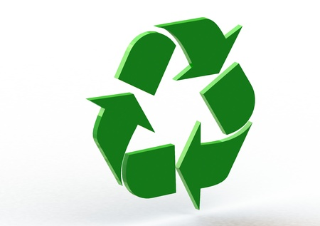 recycling symbol photo