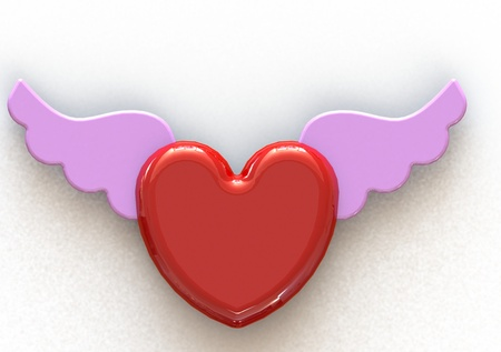 Angel Wing Heart photo