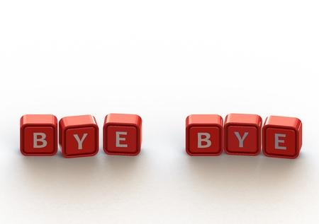 Cubes: bye bye