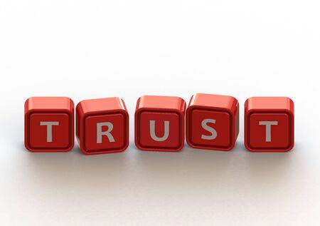 building trust: Cubes: trust
