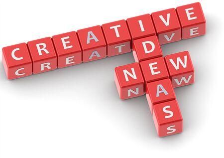 buzzword: Buzzwords: creative new ideas