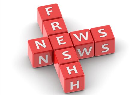 Buzzwords: fresh news photo
