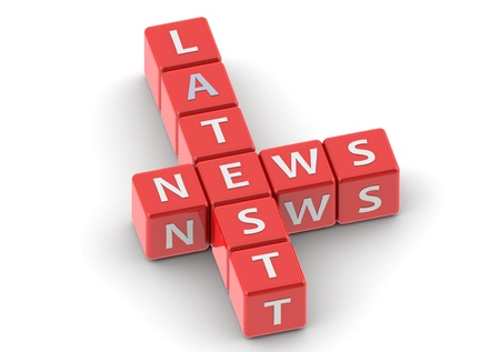buzzwords: Buzzwords: latest news Stock Photo