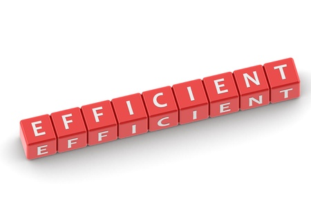 sufficient: Buzzwords: efficient