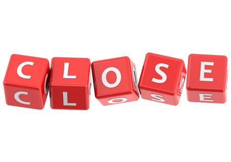 buzzwords: Buzzwords: Close Stock Photo