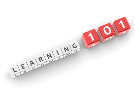 guideline: Learning 101 Stock Photo