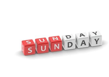 Sunday Stock Photo