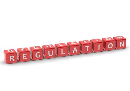 tenet: Regulation Stock Photo