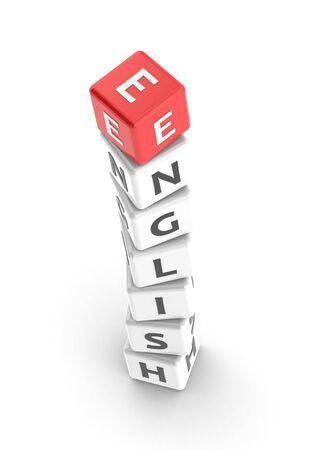 buzzword: English Stock Photo