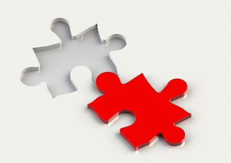 Jigsaw Piece Stock Photo - 13361633